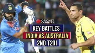 IND vs AUS, 2nd T20I: Kohli vs Coulter-Nile, Kuldeep vs Finch and other key battles