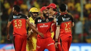 IPL 2019: MS Dhoni couldn't bring victory for his team, Bangalore register win by 1 run