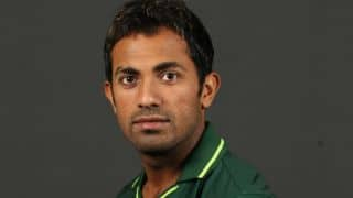 WI vs PAK ICC World Cup 2015: Wahab Riaz dismissed
