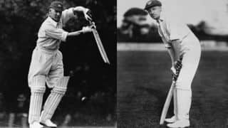 Jack Hobbs and Don Bradman: A golden link across generations