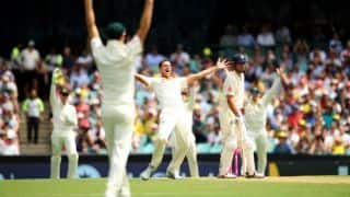 Cook falls 5 runs short of 12,000 runs before tea; England 122-3