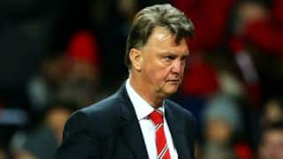 Manchester United suspend Louis van Gaal as manager