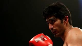 Vijender Singh congratulated by Pranab Mukherjee, Narendra Modi following WBO title win