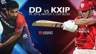 DD 113/2, 13.3 overs | LIVE Cricket Score Delhi Daredevils (DD) vs Kings XI Punjab (KXIP) IPL 2016 Match 7: DD win by 8 wickets