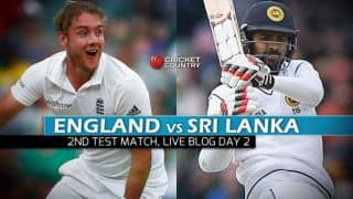 ENG vs SL 2016 Live Cricket Score, 2nd Test, Day 2 ENG 91 for 8