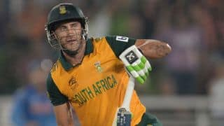 Zimbabwe Triangular Series 2014 Match 2 at Harare: Faf Du Plessis talks about his batting