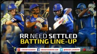 Rajasthan Royals' batting order in IPL 2015 should be more settled