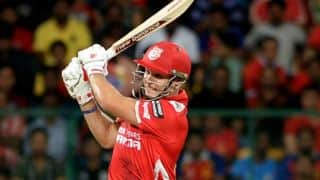 George Bailey's blitz take Kings XI Punjab close to victory against Sunrisers Hyderabad