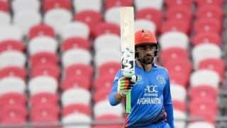 Always try my best in the batting department: Rashid Khan