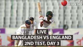 LIVE Cricket Score, Bangladesh vs England, 2nd Test, Day 3 at Dhaka:  Bangladesh win; level series 1-1
