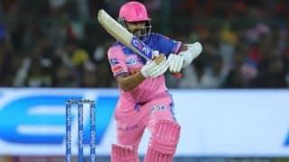 कोलकाता ने टॉस जीतकर राजस्थान को पहले बल्लेबाजी के लिए बुलाया