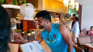 Video: Suresh Raina sings Kishore Kumar song with teammates