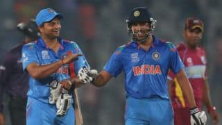 ICC World T20 2014: MS Dhoni lauds Rohit Sharma's innings after India's win over West Indies
