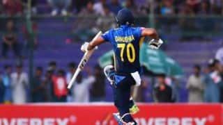 दनुष्का गुणातिलका के शतक से श्रीलंका ने पाकिस्तान को दिया 298 रनों का लक्ष्य