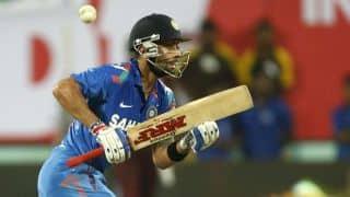 Virat Kohli dismissed by Suraj Randiv