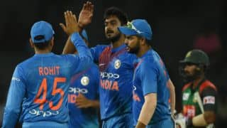 Nidahas Trophy, Match 5, statistical preview: India chase heights, Bangladesh face abyss