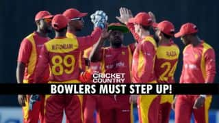Zimbabwe tour of Pakistan 2015: Visitors' bowlers must come to the party