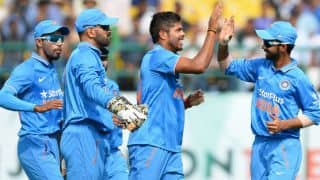 India vs New Zealand 1st ODI: Tom Latham, Tim Southee lift misfiring Kiwis to 190