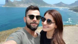 Kohli, Anushka wish fans 'Happy New Year' from picturesque South Africa