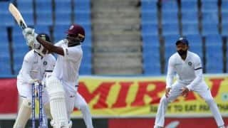 West Indies tailender Miguel Cummins bats 95 minutes for second-longest Test duck ever