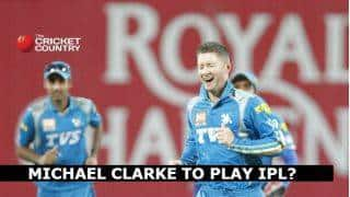 Michael Clarke to consider playing in the IPL
