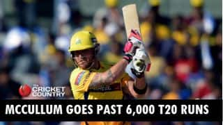 Brendon McCullum becomes 3rd cricketer to go past 6,000 T20 runs after Chris Gayle and Brad Hodge