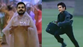 Hilarious: 'Kabhi Khushi Kabhi Gham' moment for Gautam Gambhir, Virat Kohli and Shikhar Dhawan