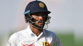 श्रीलंकाई कप्तान दिनेश चांदीमल पर लगा चार वनडे और दो टेस्ट का प्रतिबंध
