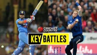 Suresh Raina vs Ben Stokes, Ajinkya Rahane vs Adil Rashid and other key battles from India A-England XI, 2nd warm-up one-day