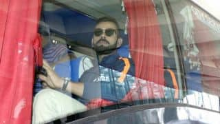 India, England team buses stranded for long en route team hotel in Kolkata
