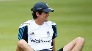 India vs England, 2nd Test at Lord's: Alastair Cook bats in the nets at Lord's