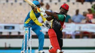 Evin Lewis thankful to Chris Gayle for giving him more strike