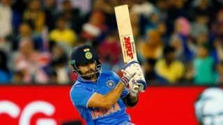 India vs Sri Lanka, Asia Cup T20 2016: Virat Kohli proves his class again; nearing fifty