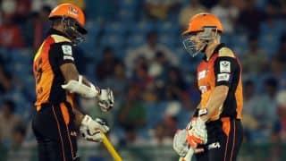 Sunrisers Hyderabad vs Kings XI Punjab: Hosts look to continue their winning streak