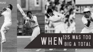 Imran Khan (6-14) bundles out India for 125, but Pakistan blown away for 87 in a sensational thriller