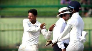 पूर्व स्पिन गेंदबाज बोले- टेस्ट क्रिकेट के लिए अभी कच्चे हैं कुलदीप यादव