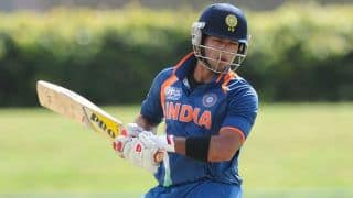 Unmukt Chand completes half-century in India A vs South Africa A Triangular series