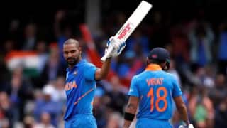 Virat Kohli and Shikhar Dhawan steal the show on the field and on Twitter