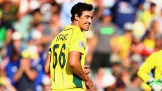 Mitchell Starc: Being fit and watching Australia play from side can be frustrating