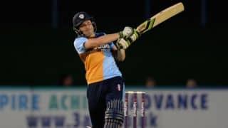 Derbyshire batsman Stephen Moore retires