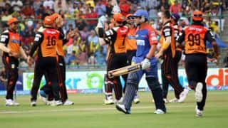 Quinton de Kock fined for showing dissent to umpire during DD vs SRH match