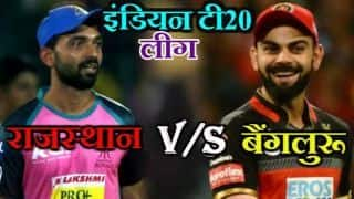 Royal Challengers Bangalore vs rajasthan royals 14th match updates, Sawai Mansingh Stadium, Jaipur