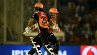 Warner-Dhawan record partnership and other statistical highlights