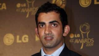 Gautam Gambhir unfazed at being ignored for New Zealand tour