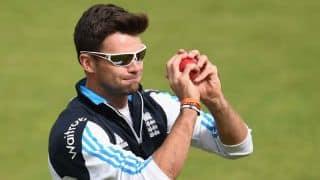 James Anderson could miss tri-series opener against Australia due to injury