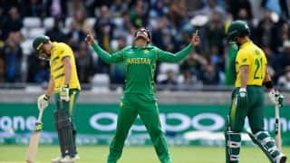 Pakistan vs South Africa, 7th Match: Pakistan Beat South Africa by 19 runs (by DLS method)