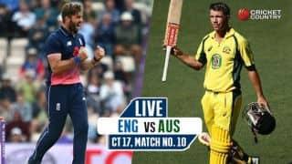 LIVE Cricket Score, England vs Australia, ICC Champions Trophy 2017: ENG win by 40 runs (DLS method)