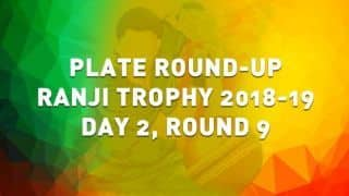 Ranji Trophy 2018-19, Round 9, Plate, Day 2: Puducherry trail Nagaland by 243 runs