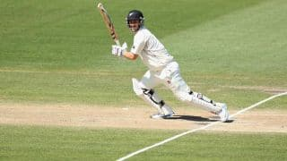 India vs New Zealand 2014, 1st Test, Day 1: New Zealand lose Rutherford after cautious start