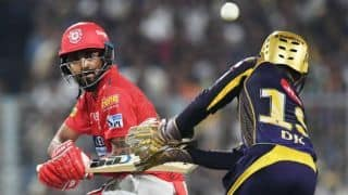 IPL 2018, KXIP vs KKR, Full Cricket Score and Updates at Indore: KXIP need 246